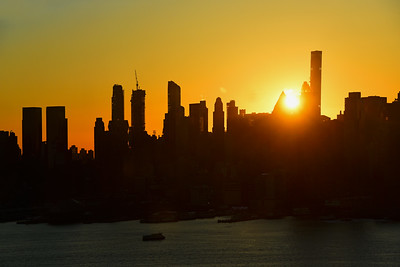 Rising Sun over NYC