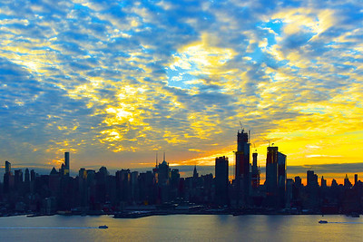 NYC Sunrise Rise and Shine