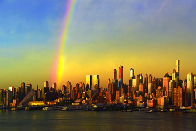 NYC_Spring Season's First Rainbow