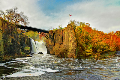 Autumn Landscape of the NJ Great Falls