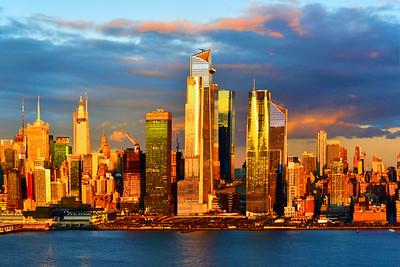NYC Monday Sundown