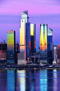 NYC - A Sundown Feast for the Eyes