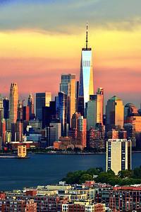 NY-NJ Riverside Sundown