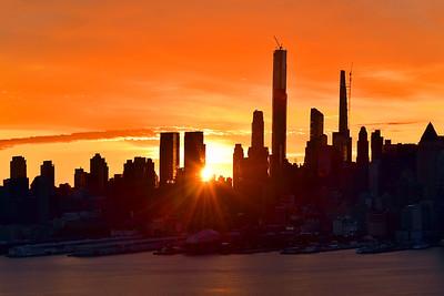 NYC_Last Sunrise of August