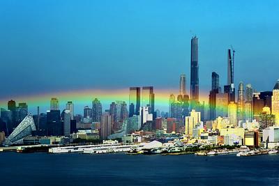 NYC - Low-lying Rainbow