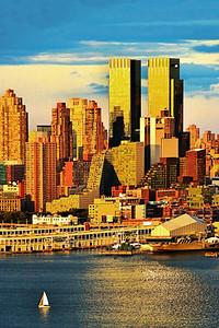 NYC A Sublime Summer Sundown