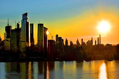 NYC-Sunrise Reflections