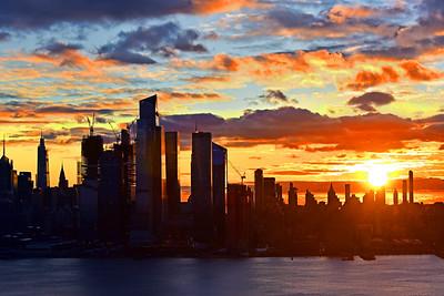 Sunrise Sky Show NYC