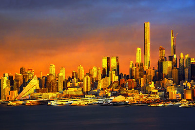 An Extraordinary Sundown NYC