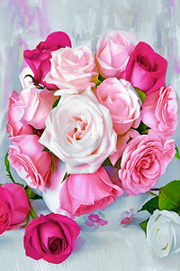 Blissfully Beautiful Pink Roses