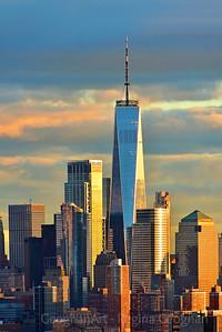 Freedom Tower at Sundown NYC