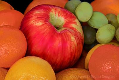 Fruit Bounty Still Life
