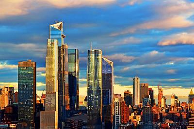 Hudson Yards NYC Sundown's Touch