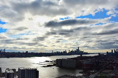 Hudson River Sky Drama