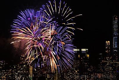 Lunar New Year Fireworks NYC 2