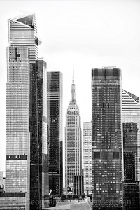 NYC Architectural Contrast