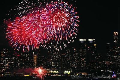 Lunar New Year Fireworks NYC