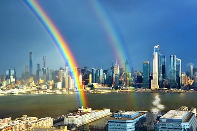 Hudwon River Winter Rainbow NJ-NY
