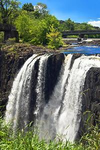 Sunlit Great Falls-Paterson N.J.