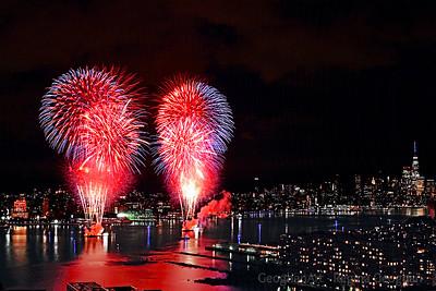 Macy's 2020 Pop-up Fireworks