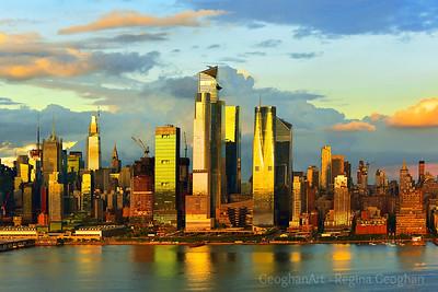 NYC - Honey-hued Sundown