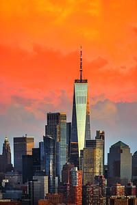 World Trade Center Orangeglow Sundown
