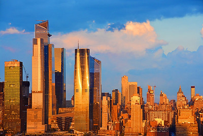NYC Sundown Golden Glow