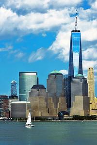 Afternoon Sail-Lower Manhattan.