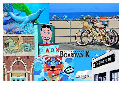 Asbury Park Boardwalk Montage