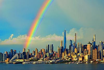 NYC First Summer Rainbow