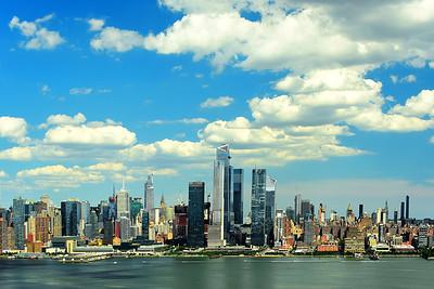 New York Skyline - A Mellow Afternoon
