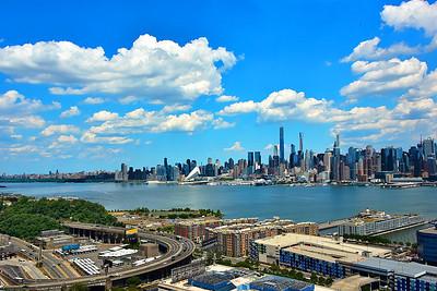 NJ-NY: A Covid 19 Cityscape