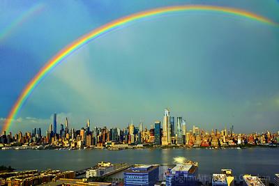 Hudon River Double Rainbow