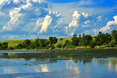 NJ Meadowlands Landscape-Incoming Tide