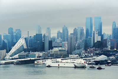 Hospital Comfort Ship in NYC
