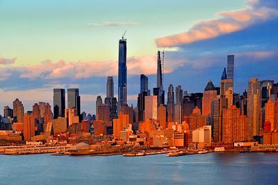 NYC Shadows and Light at Sundown
