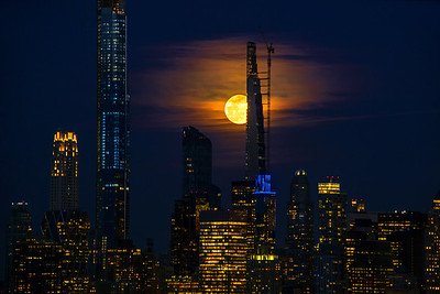 March Full Moon and NYC