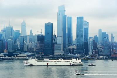 USNS Comfort Comes to NYC