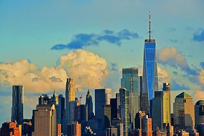 Lower Manhattan in Sundown Hues