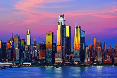 New York City  Sundown Transformation