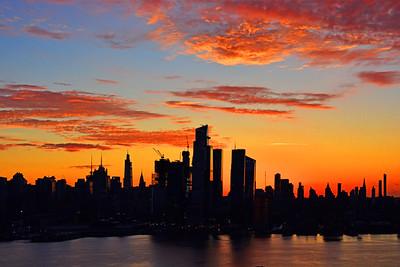 NYC Autumn Sunrise