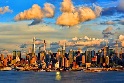 Sundown Clouds over NYC