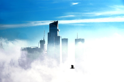 NYC-Emerging from the Fog