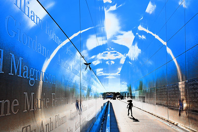 Heavenly Halo at Empty Sky 9/11 Memorial