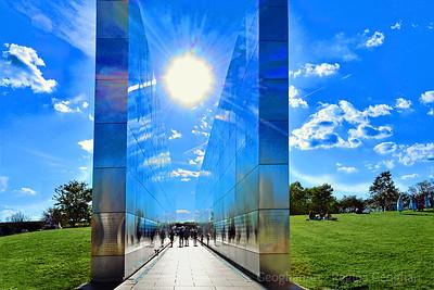 NJ 9/11 Empty Sky Memorial Landscape