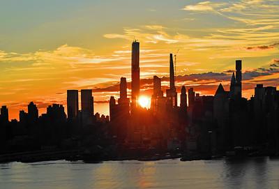 NYC September Saturday Sunrise