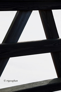 Day 019: Alphabet  challenge-Letter A - January 19.  This is a section of a wooden guard rail on a bridge in the NJ Meadowlands silhouetted by the whiteness of morning fog.  I admit to being undecided about participating in this challenge as I have limited time each day to find my photo for the day and I'm not sure that I want to spend it driving around looking for alphabet objects.  But here is a start and I'll see how it goes.  My commitment to take and post a current photo for each day is my primary objective and that will come first.    Have fun everyone with tthis.  I'll be looking forward to seeing the results