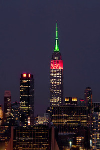 Day 021: Empire State Building colors last night to honor Martin Luther King Jr. - January 21.