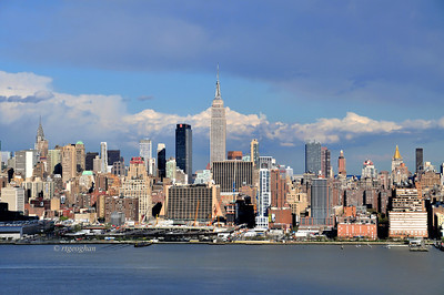 Day 125: New York Skyline-Afternoon Light - May 5.