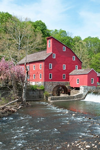 Day 111: Red Mill - April 20, 2012.   The Red Mill Museum in Clinton NJ is a favorite photos spot for photographers.  I posted images from here last year in the summer and fall and wanted to add a spring image to my collection.  .